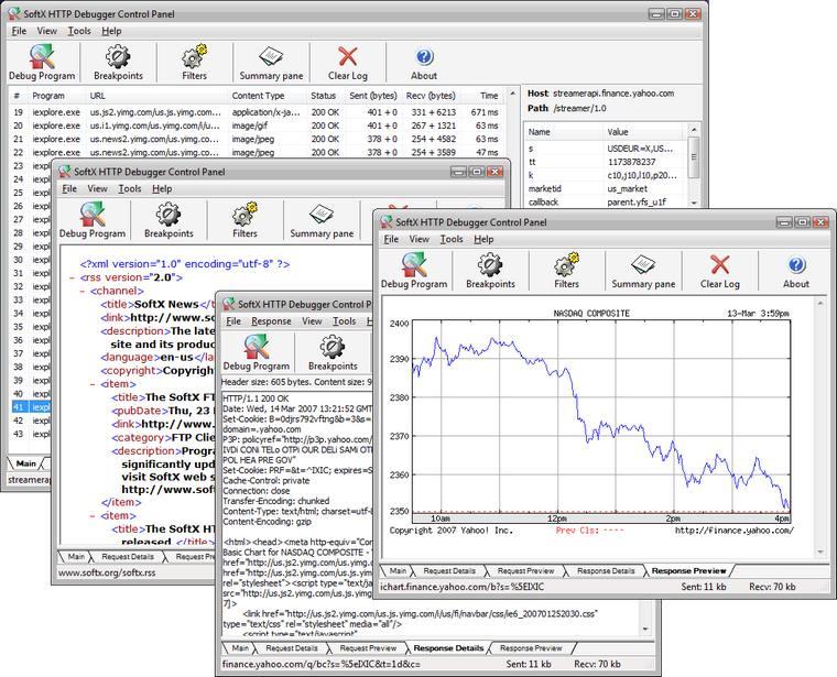 SoftX HTTP Debugger